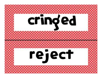 Reading Street Common Core 2013-Amazing Words-Grade 3-Unit One