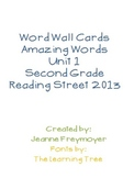 Reading Street Amazing Word Wall Unit 1