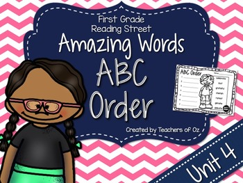 Reading Street Amazing Words ABC Order UNIT 4