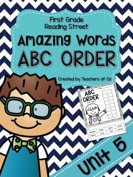 Reading Street Amazing Words ABC Order UNIT 5