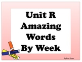 Reading Street Amazing Words Cards - First Grade