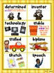 Reading Street Amazing Words - First Grade {Weekly Posters w/ Visuals}
