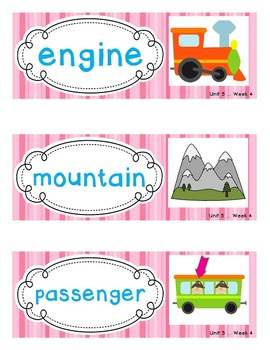 Reading Street Amazing Words - Kindergarten {All 216 Word Wall Cards w/ Visuals}