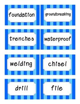 Reading Street Amazing Words-Kindergarten-Unit 6 (Blue Striped)