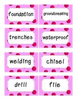 Reading Street Amazing Words-Kindergarten-Unit 6 (Pink)