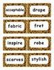 Reading Street Amazing Words Unit 5-Grade 3 (Giraffe Print)