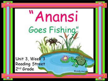 Anansi Goes Fishing,  PowerPoint for Whole Groups and Intervention Groups