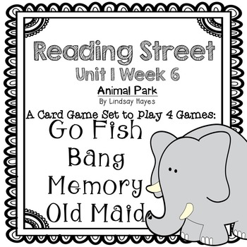 Reading Street: Animal Park 4-in-1 Spelling and HFW Games