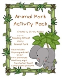 Reading Street Animal Park Activities
