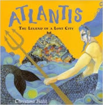"""Reading Street """"Atlantis: The Legend of a Lost City"""" Weekly PowerPoint"""
