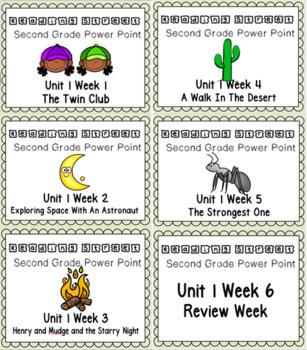 Reading Street BUNDLE Power Points Unit 1 Weeks 1-6