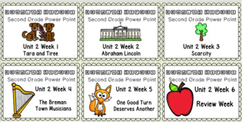 Reading Street BUNDLE Unit 2 Weeks 1-6 Power Points. Second Grade