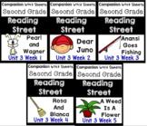 Reading Street BUNDLE Unit 3 Weeks 1-5. Worksheets/Centers. Second Grade