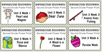 Reading Street BUNDLE Weeks 1-6 Unit 3 Power Point. Second Grade