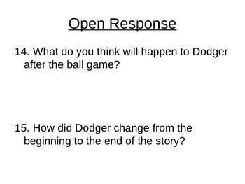 "Reading Street ""Bad Dog, Dodger!  "" Selection Test (Turning Point)"