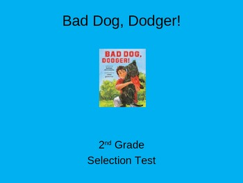 "Reading Street ""Bad Dog, Dodger!  "" Selection Test (Turning Point)"