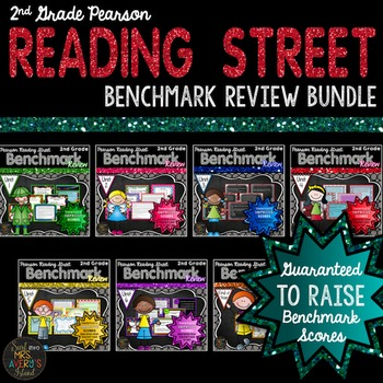 2nd Grade Reading Street Benchmark Assessment Review Bundle