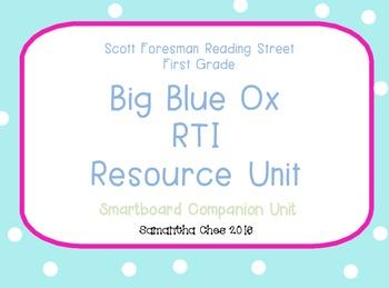 Reading Street Big Blue Ox RTI Smart board Unit