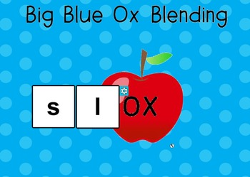 Reading Street Big Blue Ox RTI Smart board Unit