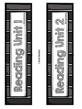 Reading Street Binder Covers