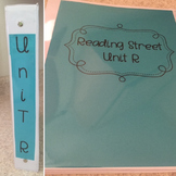 """Reading Street Binder """"File"""" Labels"""