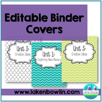 Reading Street Binder Organizers: EDITABLE
