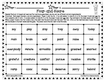 Reading Street SECOND GRADE Spelling, HF, Story, Amazing Words Game (Units 1-3)