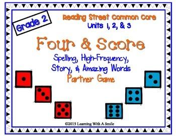 Reading Street SECOND GRADE Spelling, HF, Story, Amazing W