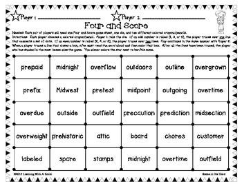 Reading Street Third Grade Spelling, Challenge, Vocabulary Game (Units 4-6)