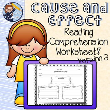 Reading Street Cause and Effect Worksheet 3