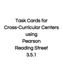 Reading Street Center Task Cards Grade 3 Unit 5 Week 1