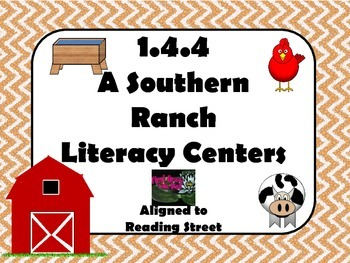Reading Street Centers and Printables  (A Southern Ranch)