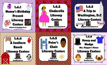Reading Street Centers and Printables  (Unit 4 Bundle)