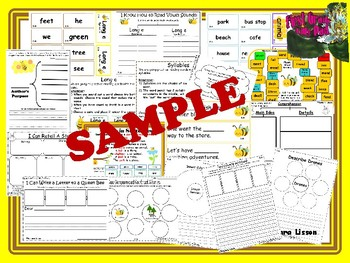 Reading Street Centers and Printables (Honey Bees)