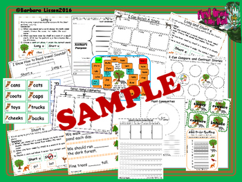 Reading Street Centers and Printables (Life in the Forest)