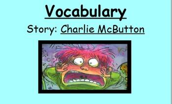 3rd Grade, Reading Street, Charlie McButton Vocabulary Sma