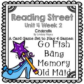 Reading Street: Cinderella  4-in-1 Spelling and HFW Games