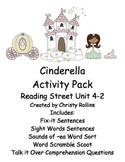 "Reading Street ""Cinderella"" Activity Pack"