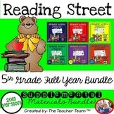 Reading Street 5th Grade Units 1-6 Common Core 2013  Full Year Bundle