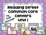 Reading Street Common Core Centers Unit 1 (First Grade)