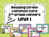 Reading Street Common Core Centers Unit 1 (Second Grade)