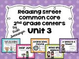 Reading Street Common Core Centers Unit 3 (Second Grade)