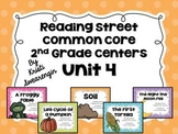 Reading Street Common Core Centers Unit 4 (Second Grade)