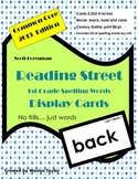 Reading Street Common Core First Grade Spelling Words (for