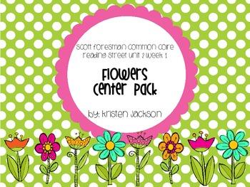 Reading Street Common Core Flowers Centers Unit 2 Week 1