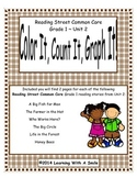 Reading Street First Grade Spelling Unit 2 Color It, Count It, Graph It!