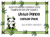 Reading Street Common Core Little Panda Centers Unit 3 Week 1