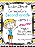 Reading Street Common Core Second Grade Units 1-6 Weekly N