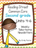 Reading Street Common Core Second Grade Units 4-6 Weekly N
