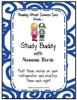 Reading Street First Grade Spelling, Amazing, HF, Story, Nonsense Word Lists
